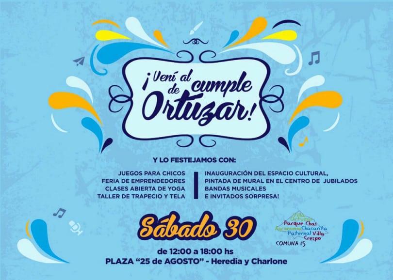 Aniversario de Villa Ortúzar