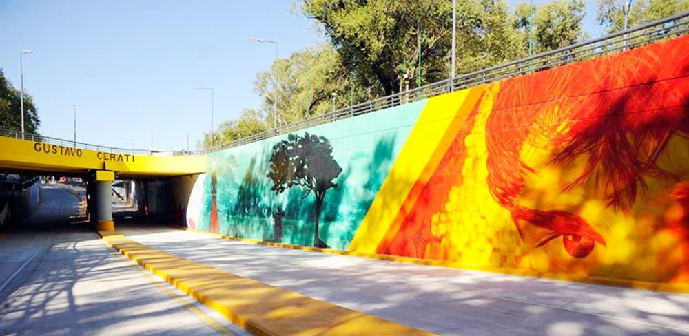 Túnel de Beiró y vías del FFCC Urquiza