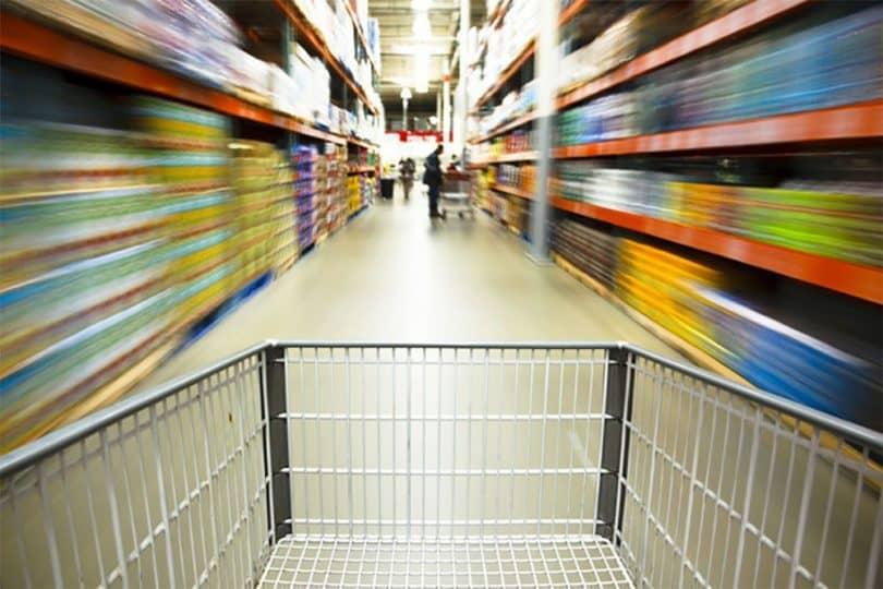 Caen las ventas en los supermercados