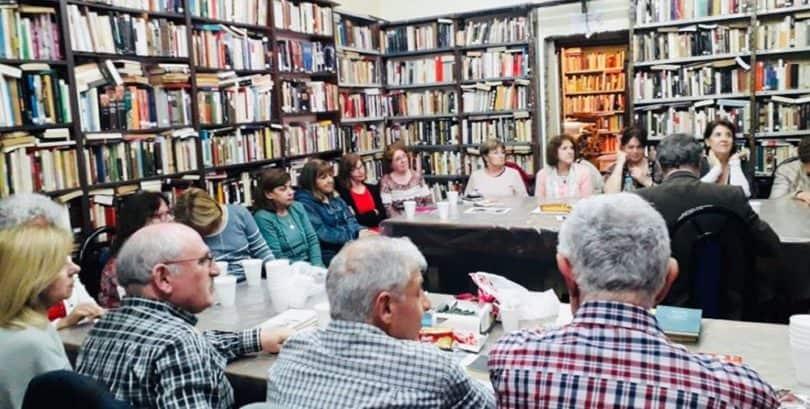 Taller de lectura para adultos mayores