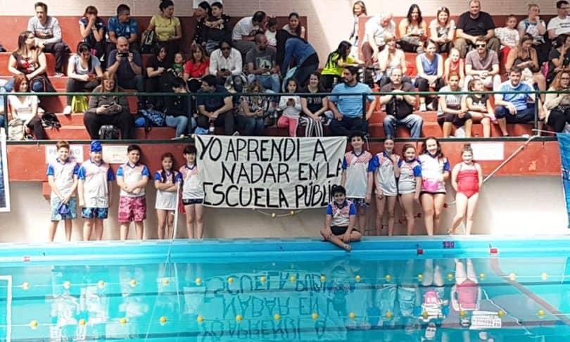 Equipo de natación del Álvarez Thomas