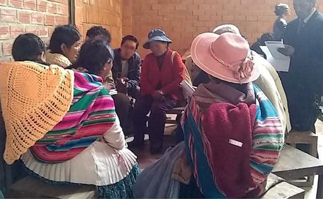 Iglesia San Francisco en Bolivia