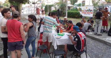 Argentina sin hambre, olla popular en villa pueyrredón