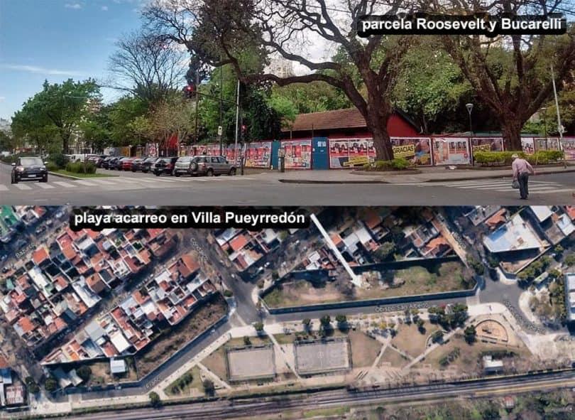 Predios nacionales en Urquiza y Pueyrredón