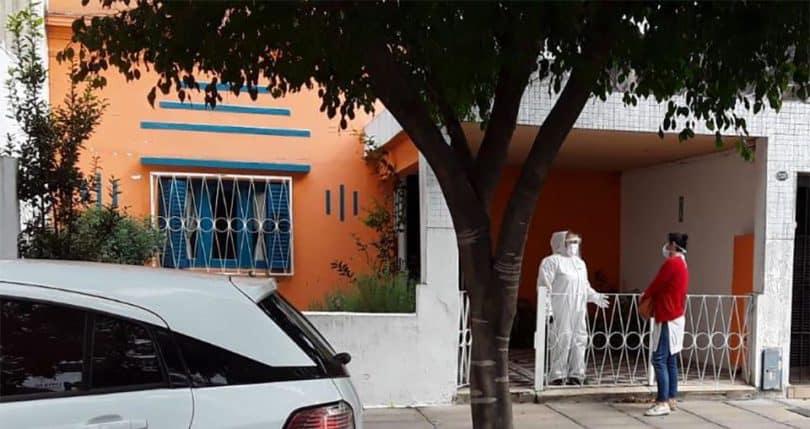 Clausuran geriátrico en Villa Devoto