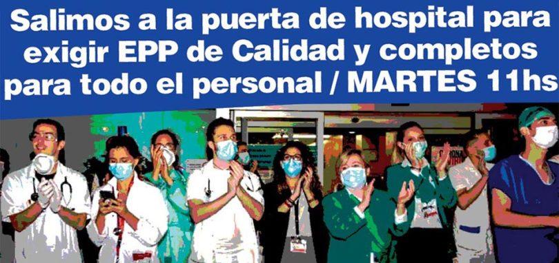 Protesta de Enfermerxs