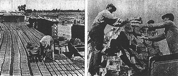 El Piamonte, Devoto y los hornos de ladrillos