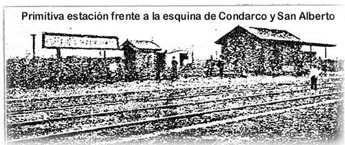 estación Villa Pueyrredón 1905