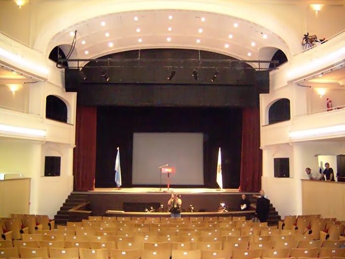 Interior del Cine Teatro 25 de Mayo