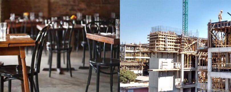 Habilitan bares y construcción