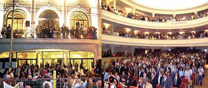 Reapertura del Cine Teatro 25 de Mayo