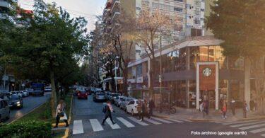 Mesas en veredas y peatonales: Boulevard Mendoza