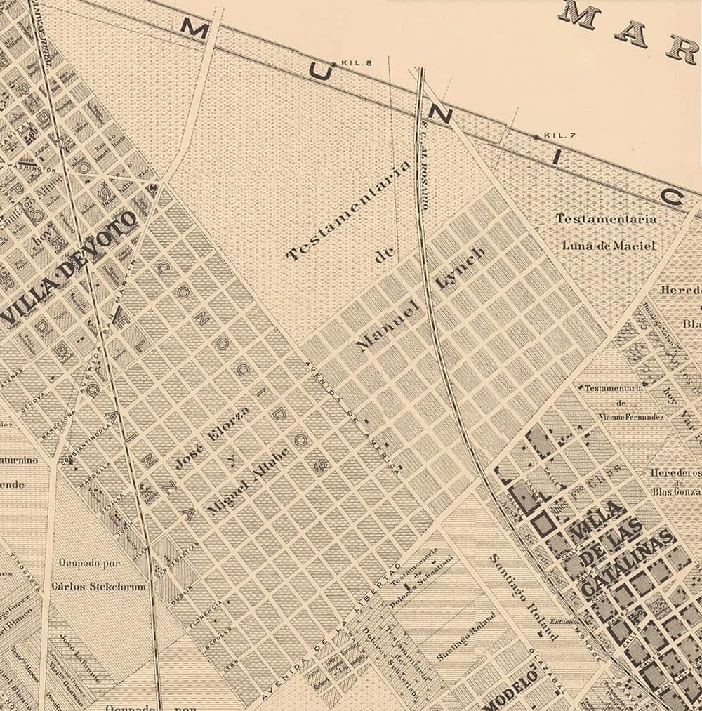Plano Topográfico 1895