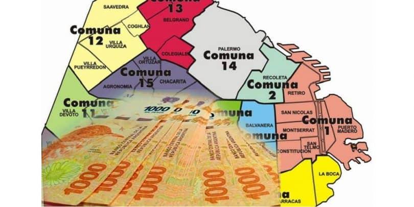 comunas y presupuesto