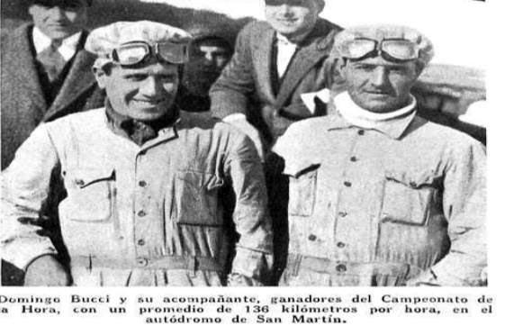 """Piloto Domingo Bucci,auto """"Hudson"""""""