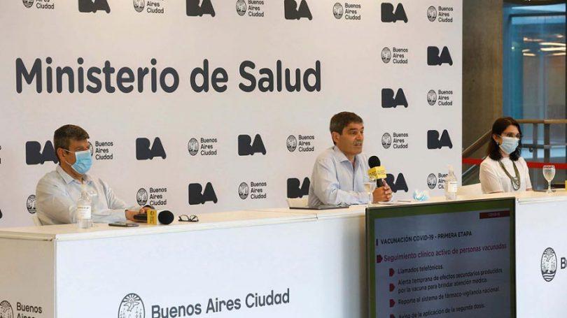 Ministro de Salud Fernán Quiros