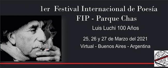 Festival de Poesia Parque Chas. Luis Luchi 100 años