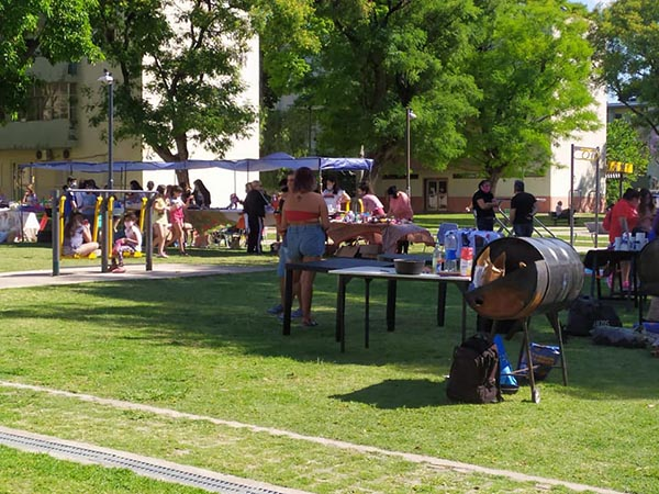 Feria vecinal de Villa Pueyrredón