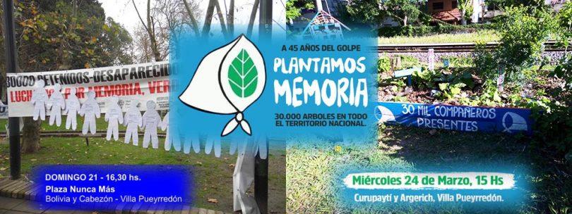 Plantamos memoria