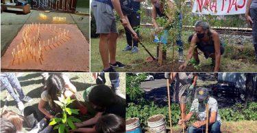 Plantamos Memoria en Villa Pueyrredón