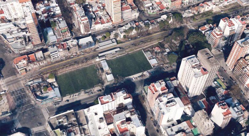 Terrenos de la estación de Villa Urquiza