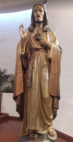 Escultura Corazón de Jesús
