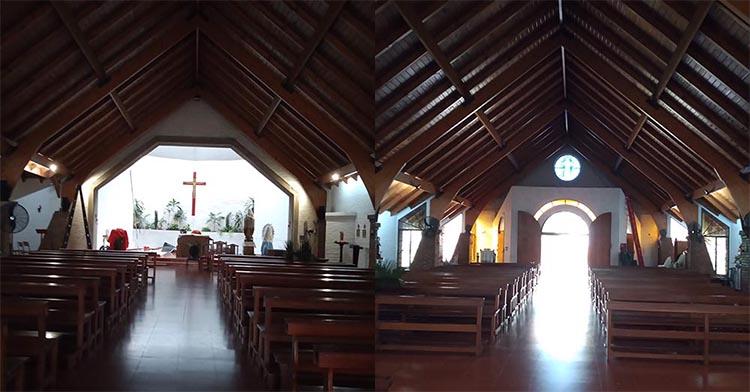 Interior Iglesia Corazón de Jesús