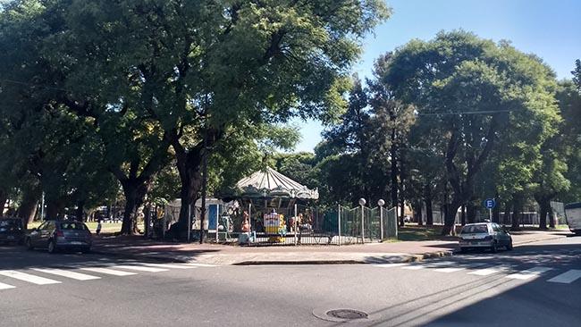 Plaza Leandro Alem Villa Pueyrredón