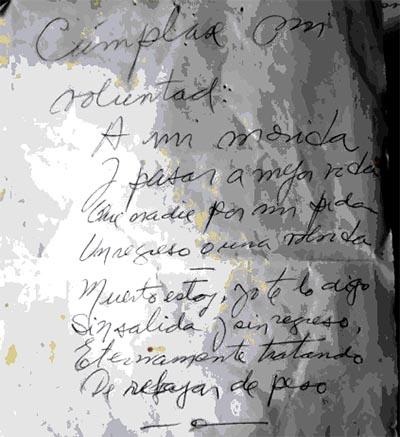 Poema Félix Coluccio