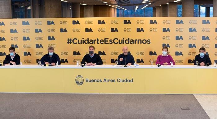 Conferencia de premsa de Rodriguez Larreta