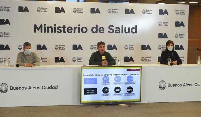 Conferencia prensa de Quirós