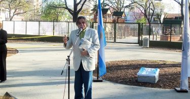 Horacio González en Villa Pueyrredón