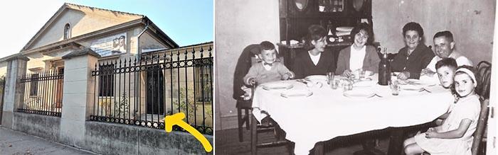 Familia de los caseros del Convento Carmelitas descalzas Villa Pueyrredón