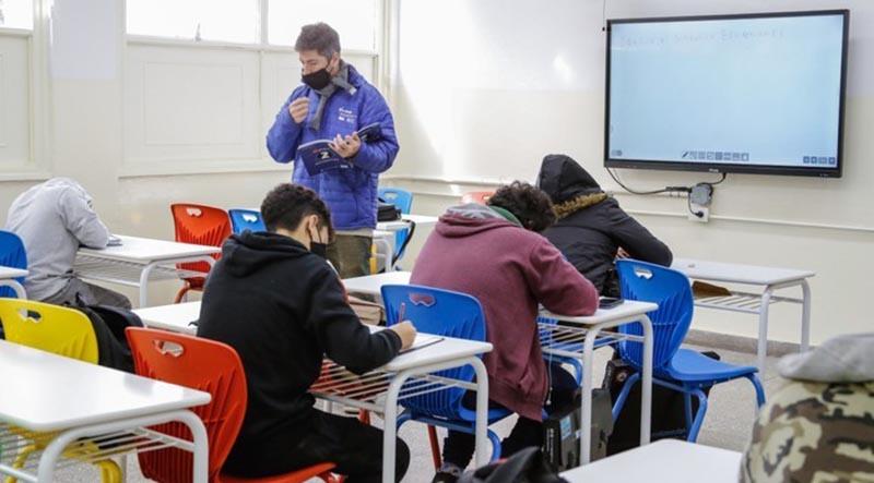 Presencialidad en aulas