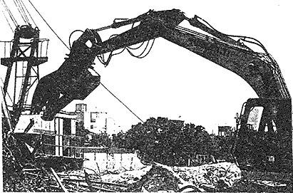 Demolición de la Grafa