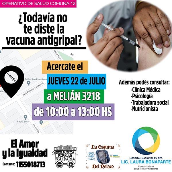 Operativo de salud Comuna 12
