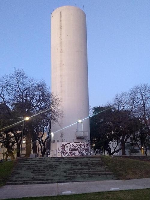 Tanque de agua del Barrio Gral. San Martín