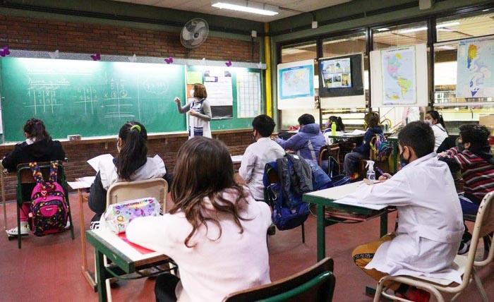Tutorías en escuelas porteñas