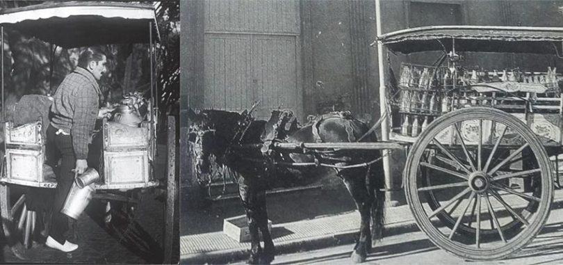 El carro lechero
