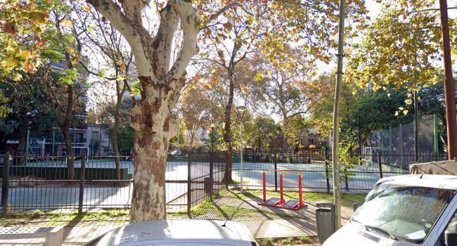 Canchita en la Plaza Éxodo de Jujuy
