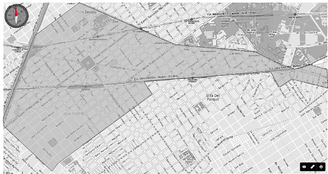 Mapa Distrito del Vino