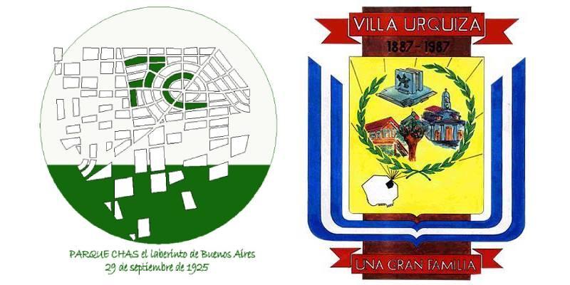 Escudos de Parque Chas y Villa Urquiza