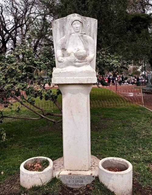 Monumento a la Madre Plaza Martín Rodríguez